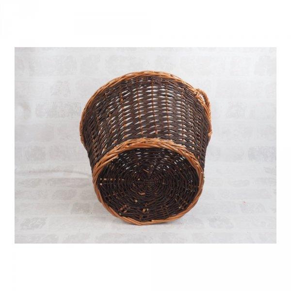 Kosz gospodarczy (Wplot/50cm) - sklep z wiklina - zdjęcie - 2
