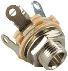 Gniazdo Jack Switchcraft 6,3mm Metal Mono SC-12A