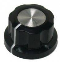 Gałka X4-22 czarna