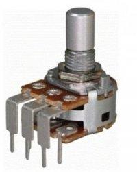 Alpha 2x250k/B liniowy stereo PCB-V