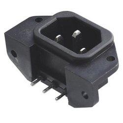Gniazdo sieciowe IEC PCB do druku