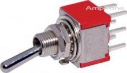 Przełącznik DPDT T0812 mini PCB (ON-OFF-ON)