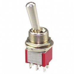 Przełącznik DPDT M202R mini LL