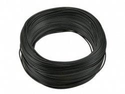 Kabel jednożyłowy czarny H05V 1x0,35mm2