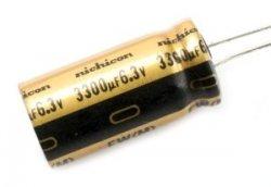 Nichicon FW 470uF 6,3V