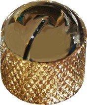 Gałka metalowa Dome Gold