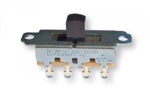 Przełącznik suwakowy 3 pozycje SP3T Switchcraft