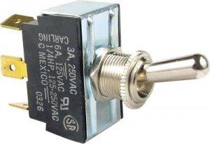 Przełącznik dźwigniowy SPDT Carling 3 pozycje, Ground