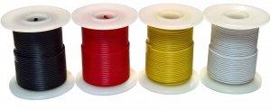 Kabel jednożyłowy biały 0,35mm2 RL