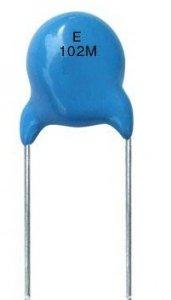 Kondensator ceramiczny 100pF 3kV