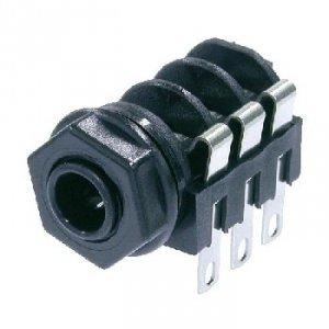 Gniazdo Jack 6,3mm Stereo, NMJ6HF-S