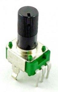 Alpha 9mm plastic - 10k/A logarytmiczny