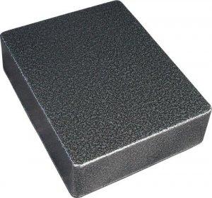 Obudowa aluminiowa czarno-srebrna młotkowa eq1590BB