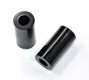 Dystans plastikowy czarny 30mm