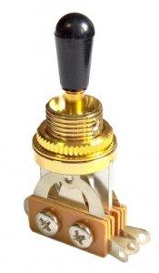 Przełącznik styl Les Paul 3 pozycje Gold/Black