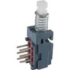 Przełącznik przyciskowy Marshall/Fender DPDT (isostat)