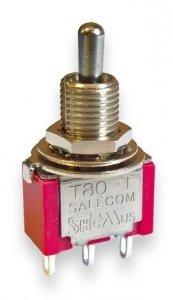 Przełącznik Salecom mini T80 SPDT short 3 pozycje