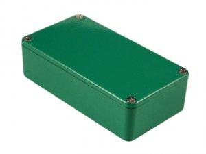 Obudowa aluminiowa 1590BGR Hammond Zielona
