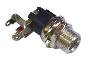 Gniazdo DC power 2.1mm / 5.5mm kątowe