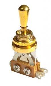 Przełącznik styl Les Paul 3 pozycje Gold