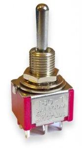 Przełącznik Salecom mini T80 DPDT 3 pozycje