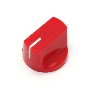 Gałka styl Fulltone, czerwona