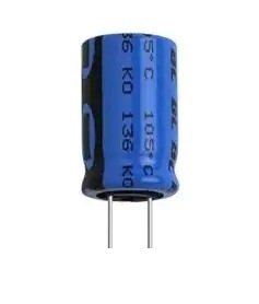 100uF 63V BC Components, pionowy