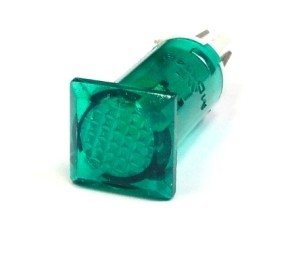 Lampka / kontrolka, zielona x14B
