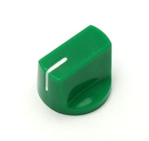Gałka styl Fulltone, zielona