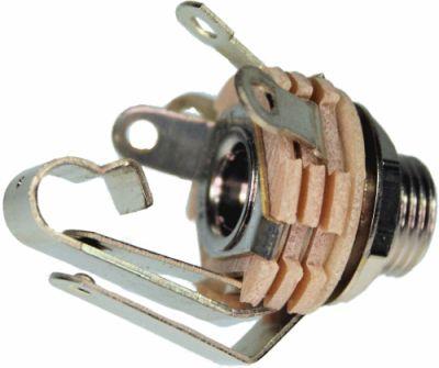 Gniazdo Jack Switchcraft 6,3mm Mono SC-13A