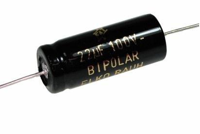 Kondensator 10uF 100V CFT F&T bipolar