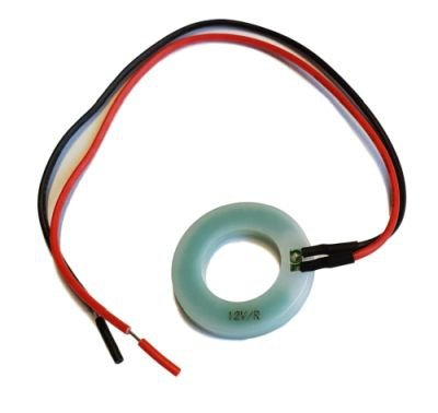 LED ring do przełączników 9V zielony