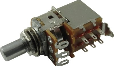 Alpha 250k/A logarytmiczny push-pull