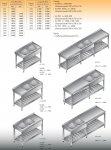 Stół zlewozmywakowy 2-zbiornikowy lo 233 - 1800x600