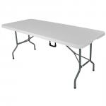 stół cateringowy składany 1840x610x740 mm
