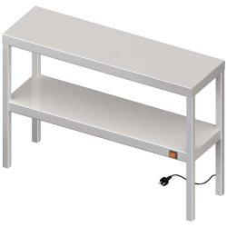 Nadstawka grzewcza na stół podwójna  1200x400x700 mm