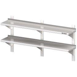 Półka wisząca, przestawna,podwójna 1600x400x660 mm