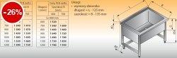 Basen wysoki przyścienny lo 408 - 1100x700 g300