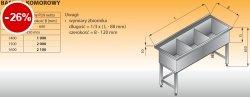 Basen 3-komorowy lo 403 - 1400x600 g350