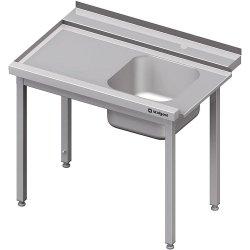 Stół załadowczy(L) 1-kom. bez półki do zmywarki STALGAST 1300x750x880 mm spawany