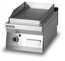 Grill płytowy elektryczny - płyta ryflowana L900.GPE450R Lozamet