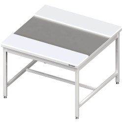 Stół centralny z płytami polietylenowymi 1600x1400x850 mm spawany
