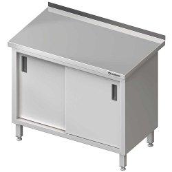 Stół przyścienny z drzwiami suwanymi 1600x600x850 mm