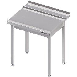 Stół wyładowczy(P), bez półki do zmywarki STALGAST 1400x750x880 mm spawany