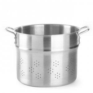Wkład do gotowania pierogów, kopytek i makaronu - Profi Line, perforowany 41 l; śr. 400 x 330 h