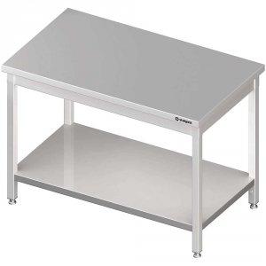 Stół centralny z półką 1700x800x850 mm skręcany