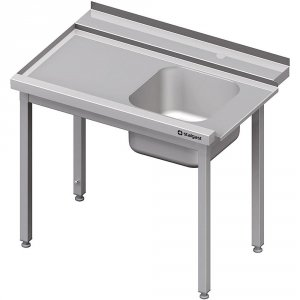 Stół załadowczy(L) 1-kom. bez półki do zmywarki STALGAST 1200x750x880 mm spawany