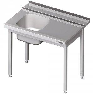 Stół załadowczy(P) 1-kom. bez półki do zmywarki STALGAST 1000x750x880 mm spawany