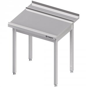 Stół wyładowczy(P), bez półki do zmywarki STALGAST 1200x750x880 mm skręcany