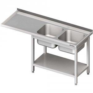 Stół ze zlewem 2-kom.(P) i miejscem na lodówkę lub zmywarkę 1900x700x900 mm
